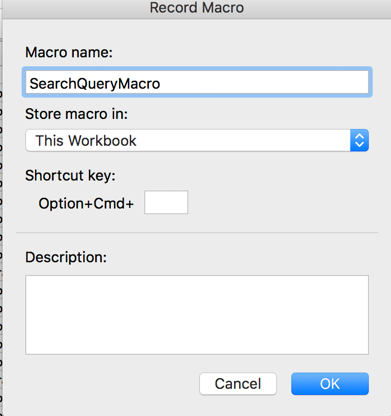 How to Record Macros in Excel | SEJ