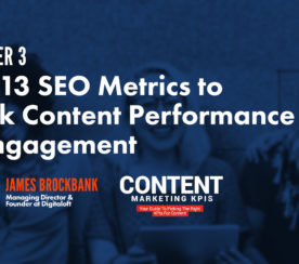 Top 13 SEO Metrics to Track Content Performance & Engagement