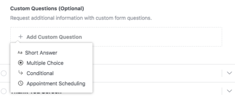 Facebook Lead Gen Ads - Custom Questions