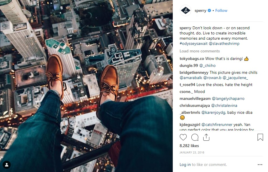 Sperry Instagram