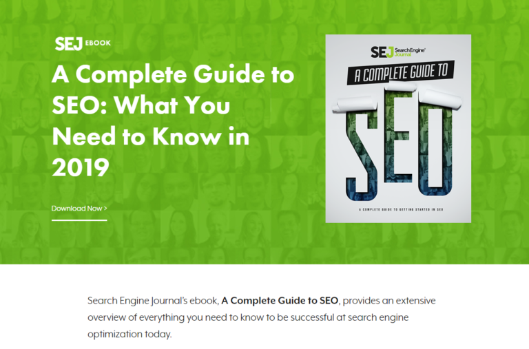 SEJ 19 Part seo guide