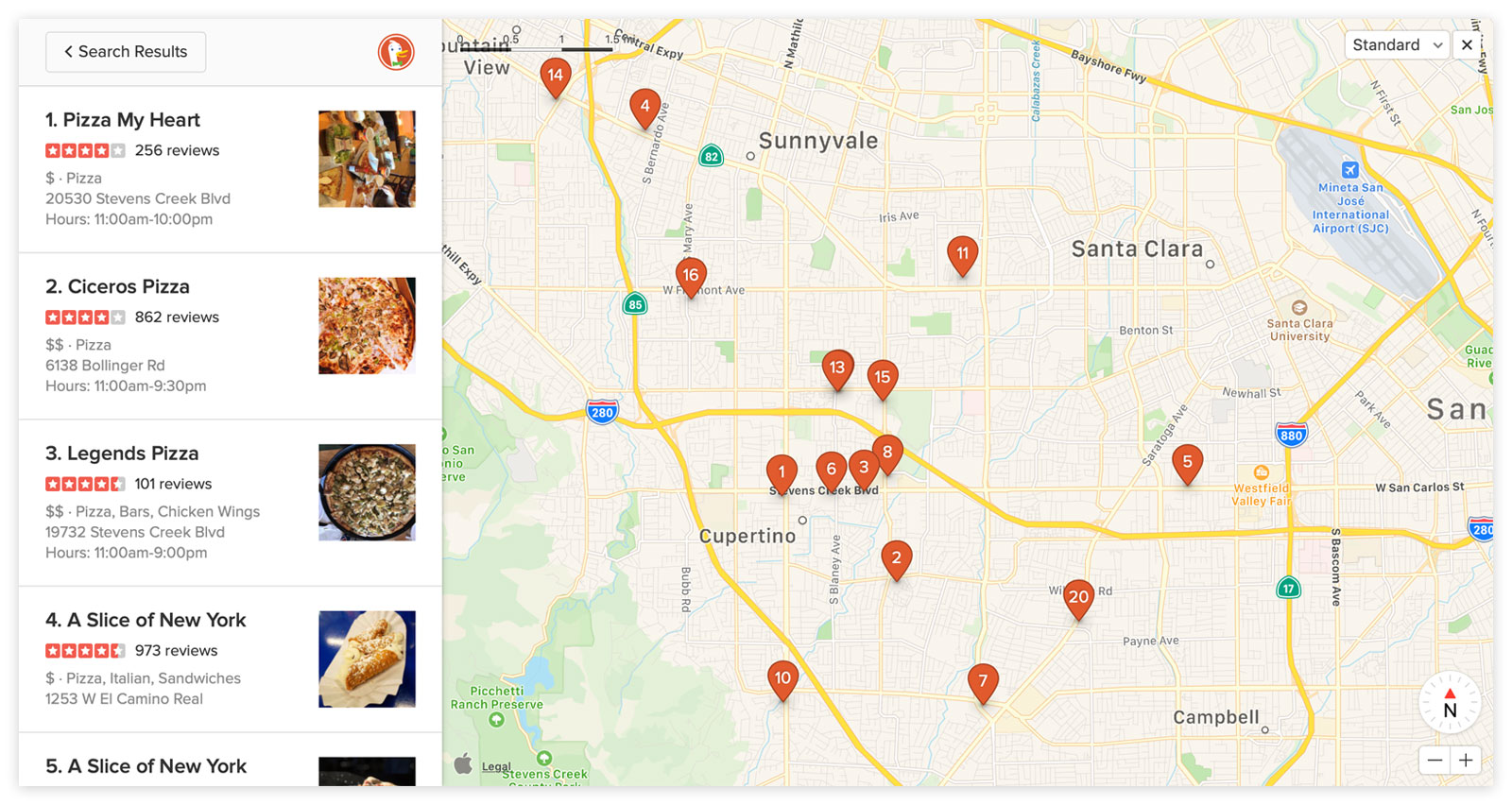 DuckDuckGo Improves Local Searches With Apple Maps Integration