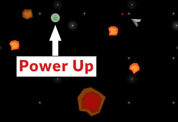 Screenshot of a power-up shield that is awarded to secure websites