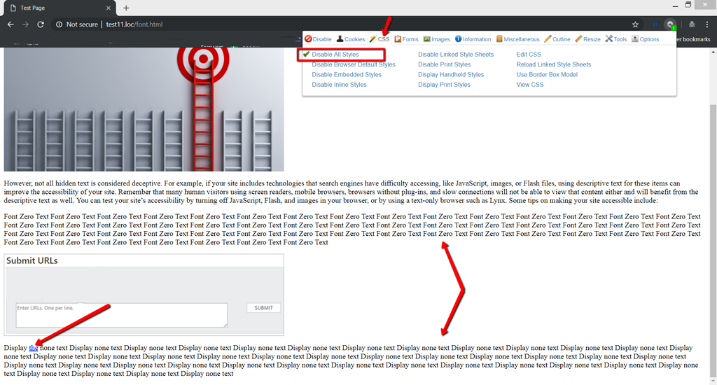 3 Ways to Find Hidden Spam Links & Text on a Webpage