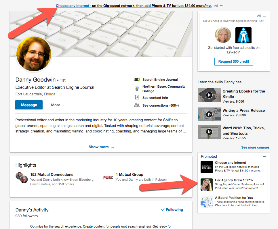 LinkedIn-placements