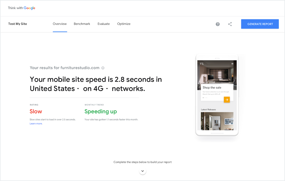Google Rebuilds 'Test My Site' Tool From the Ground Up
