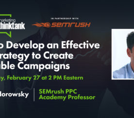 How to Develop an Effective PPC Strategy to Create Profitable Campaigns [Webinar]