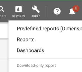 Google Ads Makes Predefined Reports Easier to Access