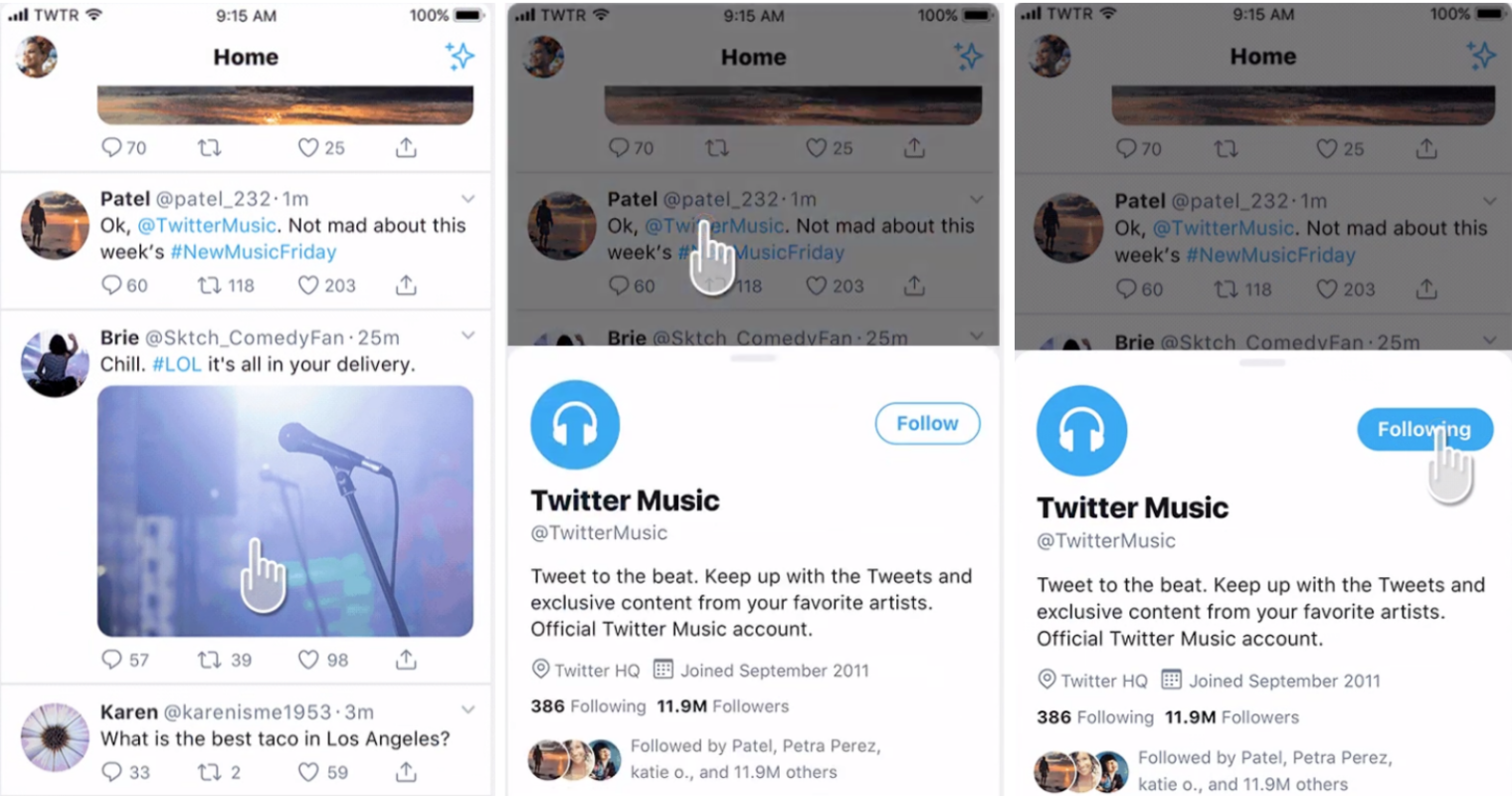 Twitter is Testing a New Way to View Users' Profiles