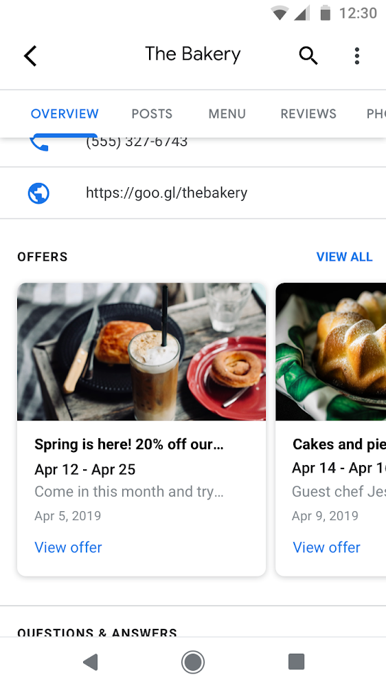 Google Lets Businesses Create a Carousel of Recent Offers