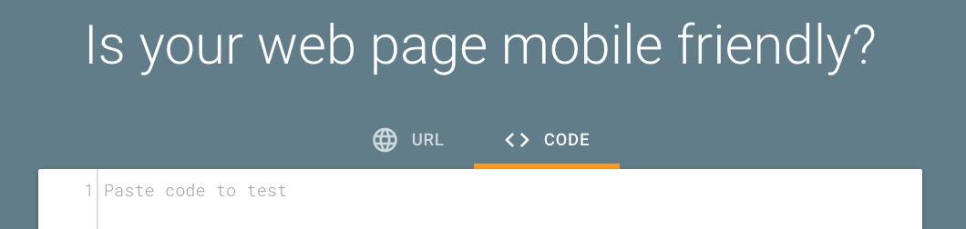 Google's Mobile-Friendly Testing Tool Lets Users Test and Edit Actual Code