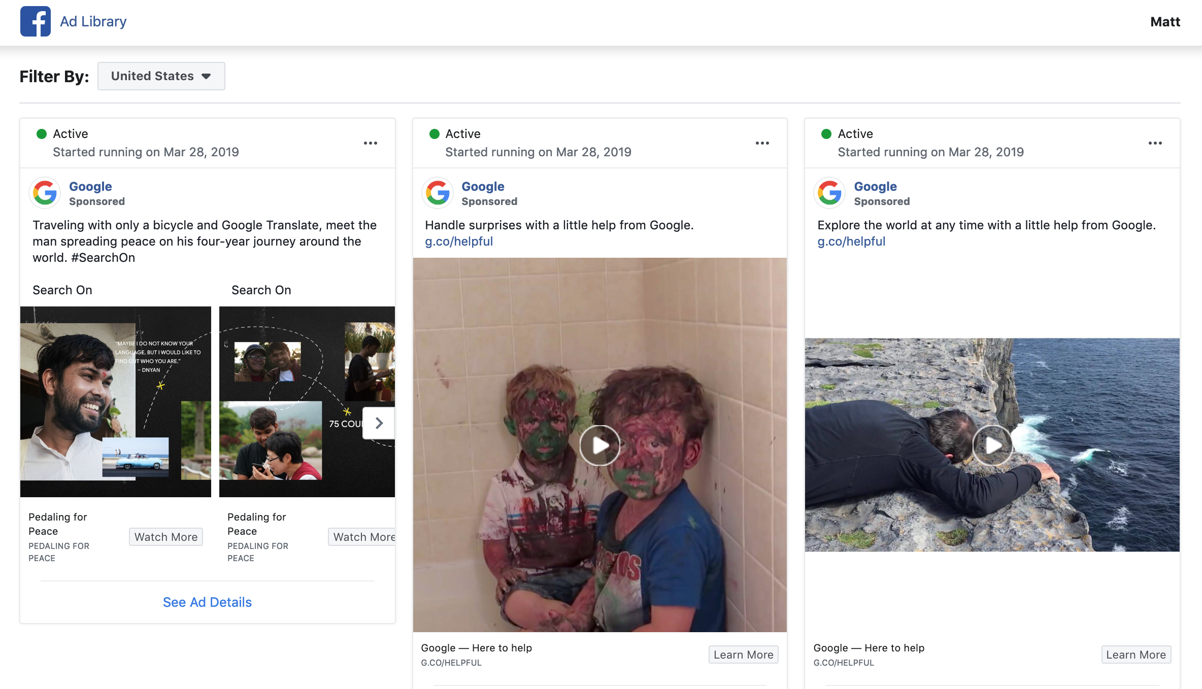 Facebook Lets Users Search for All Active Ads That Pages Are Running