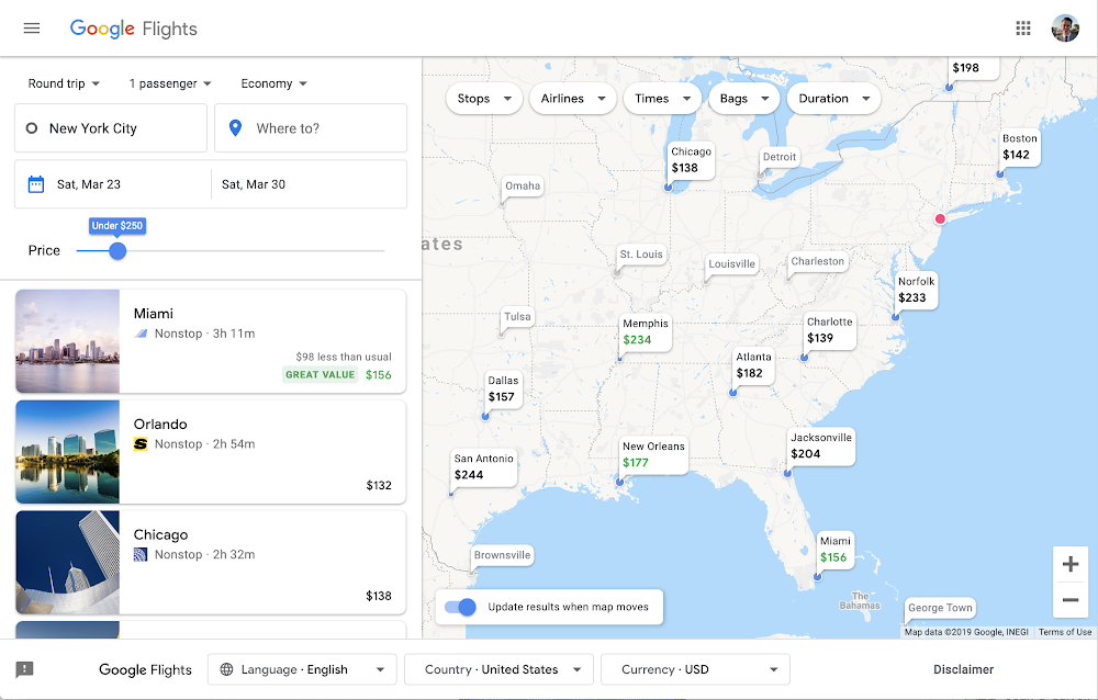 Google Updates Travel Searches to Help Users Find Budget-Friendly Options