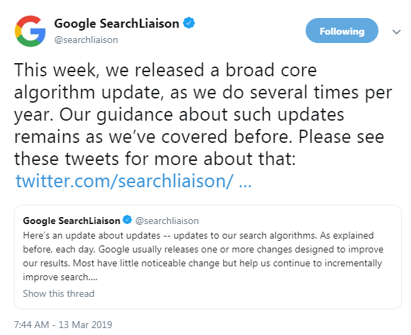 Google Update Florida 2