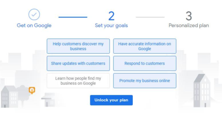 Google Asks Businesses to Set Their Goals in New GMB Onboarding Process