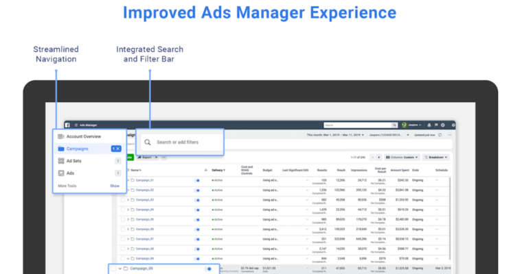Facebook is Improving Ads Manager and Business Manager - Search