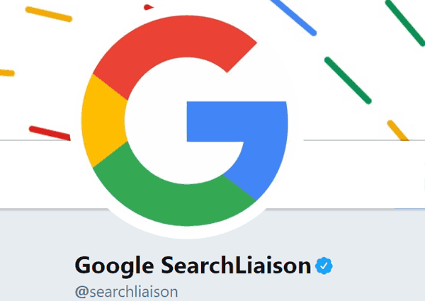 A screenshot of the official Google SearchLiaison Twitter account from which details about what neural matching algorithm is were officially discussed
