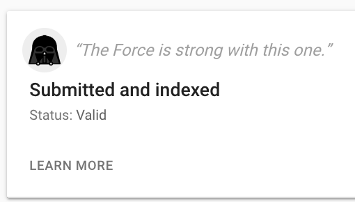 Google Celebrates Star Wars Day With Easter Eggs From The Search Console