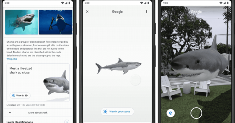 Google Brings Augmented Reality to Search Results