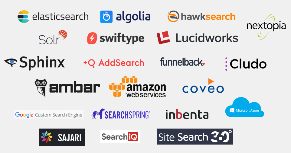 internal site search engine tools