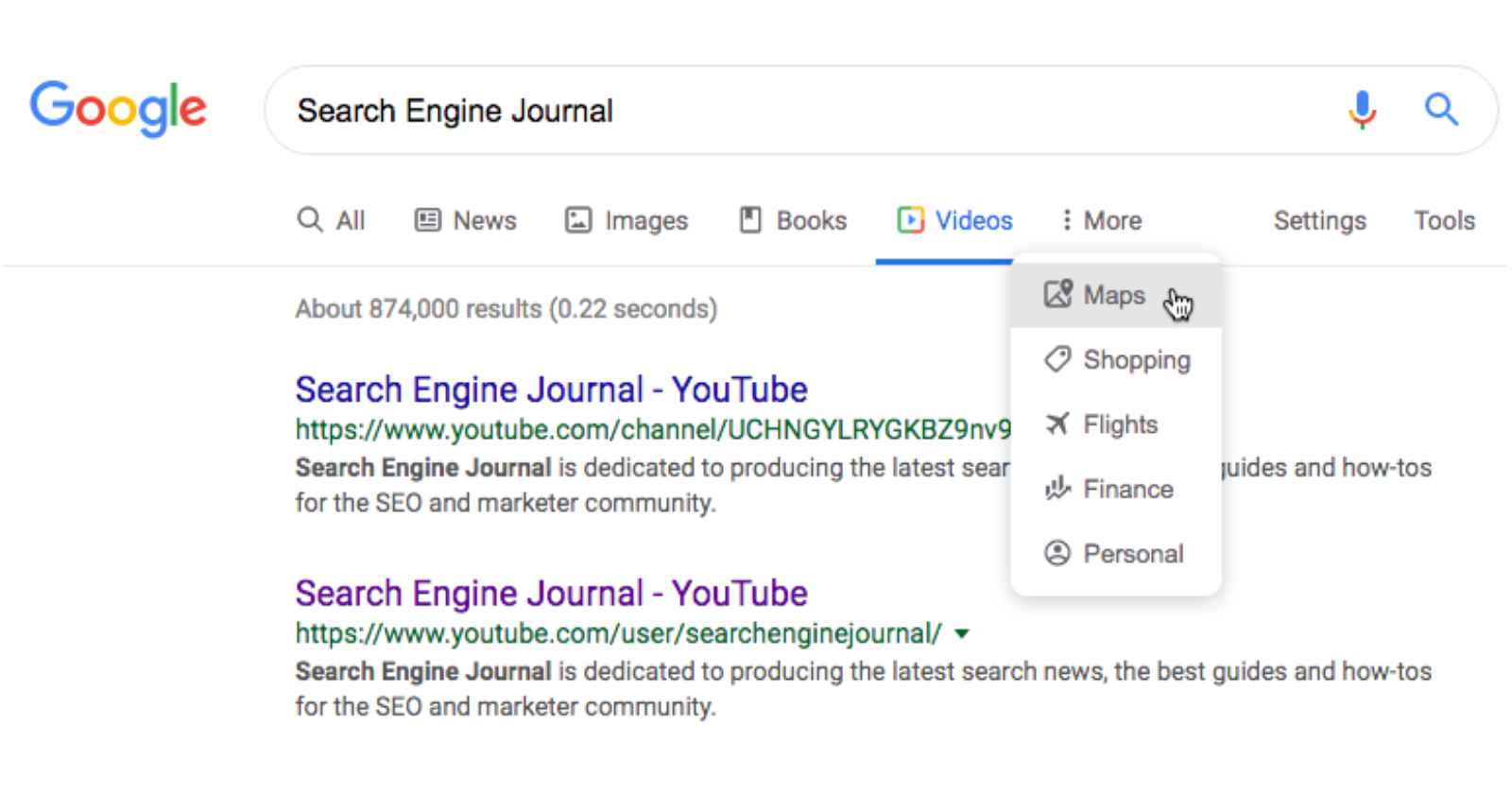 Image result for Google has started rolling out the new search results on desktop globally.
