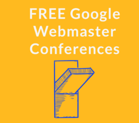 Google Announces Free Webmaster Conferences
