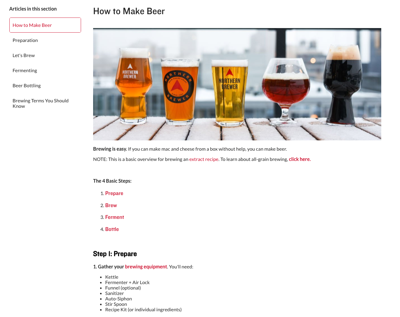 northern brewer how to