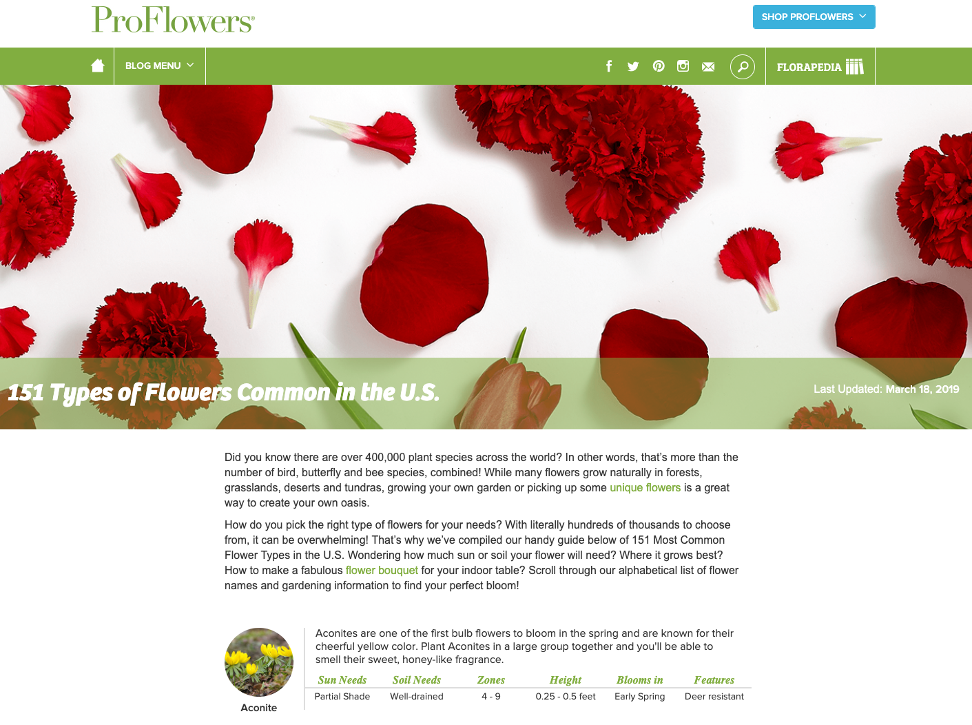proflowers example