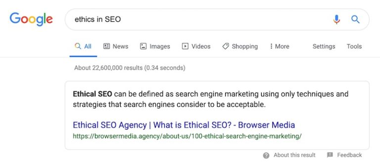 What Is Ethical SEO?