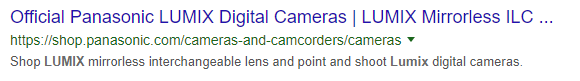 Example of a truncated page title on a desktop SERP