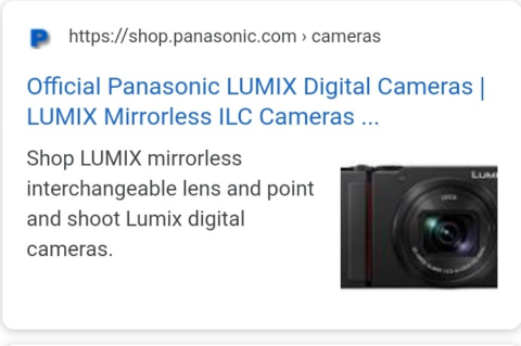 Example of a truncated page title on a mobile SERP
