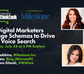 How Digital Marketers Leverage Schemas to Drive SEO & Voice Search [WEBINAR]