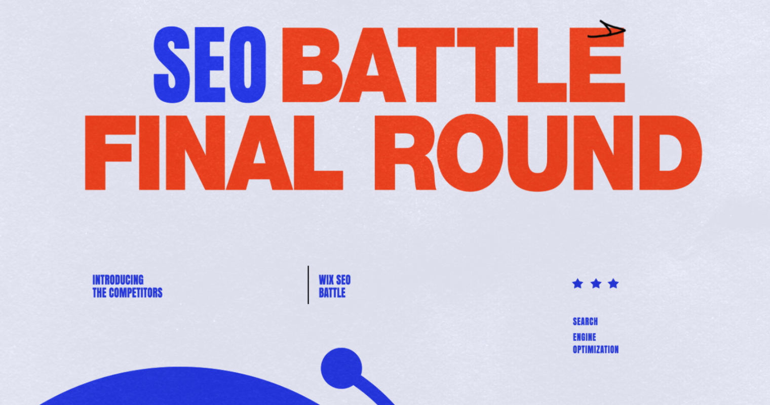 Wix SEO Battle Is ON! Meet the Competitors