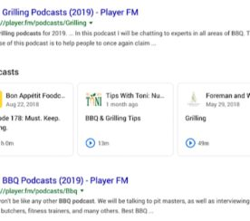 Google Makes Podcasts Playable in Search Results