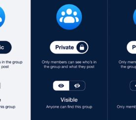 Facebook Rolls Out New Privacy Model for Groups With Only 2 Settings