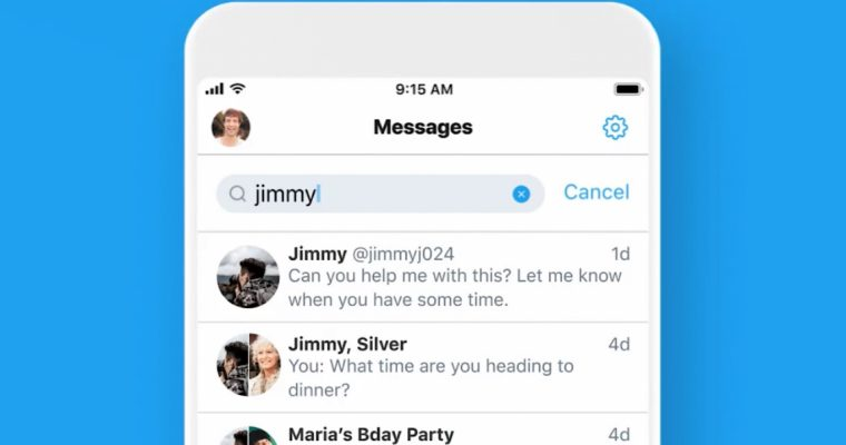 Twitter is Rolling Out a Search Bar for Direct Messages