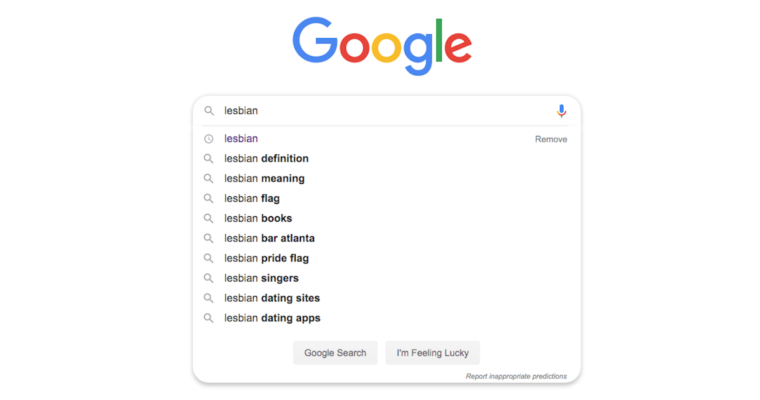 Google Algo Update Removes Porn from Lesbian & More Search Results