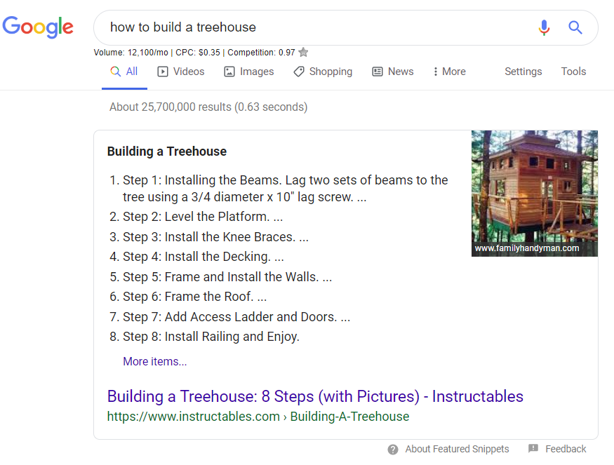 How to build a treehouse?