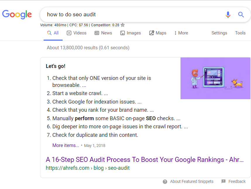 How to do SEO audit?