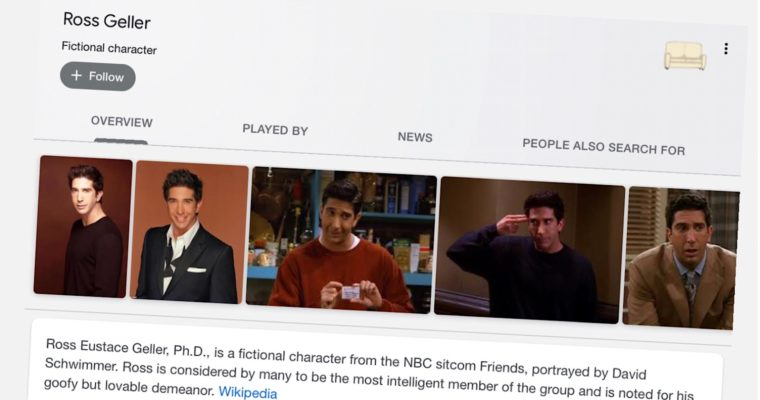 Google Rolls Out 6 Easter Eggs to Celebrate the 25th Anniversary of 'Friends'