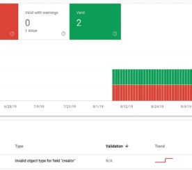 Google Search Console Adds a New Type of Structured Data Report