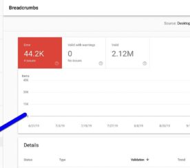 Google Search Console Adds a New Structured Data Report for Breadcrumbs