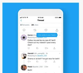 Twitter Officially Rolls Out 'Hide Replies' Feature in the US