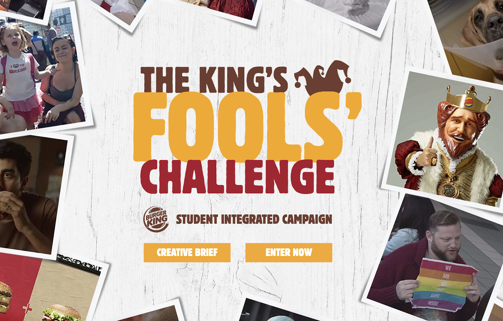 Burger King: The Challenge of the Fool King