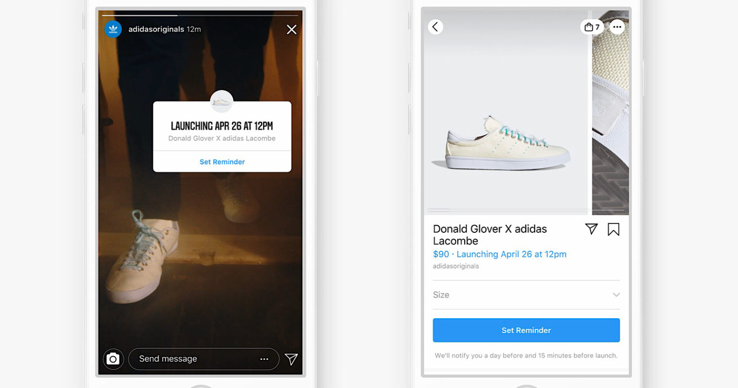 Instagram to Help Businesses Sell Products By Reminding Customers on Launch Day