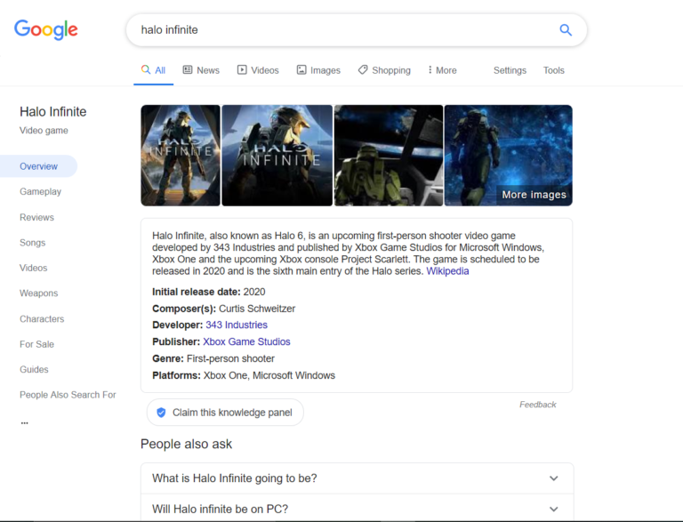 Google is Testing a New Search Interface for Video Games