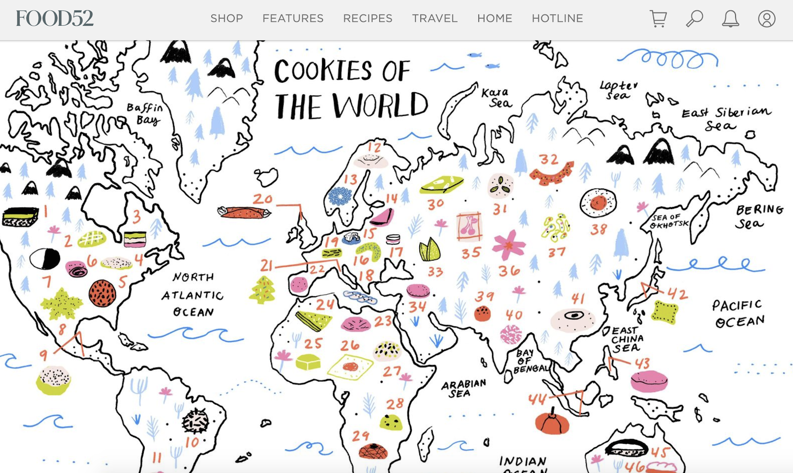 Food52 - Cookies of the World