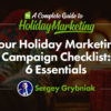 Your Holiday Marketing Campaign Checklist: 6 Essentials