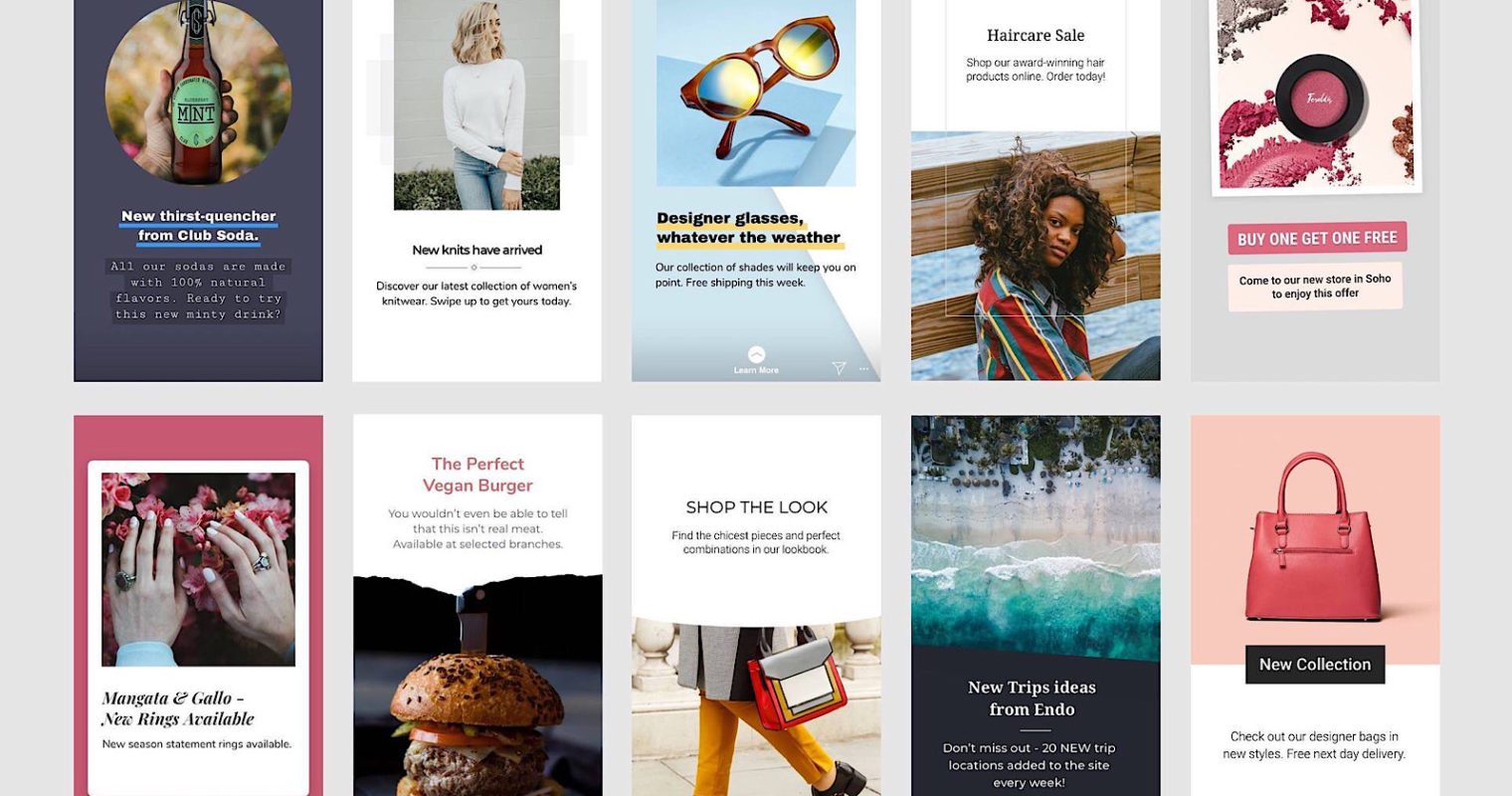 Facebook Introduces New Custom Templates for Stories Ads