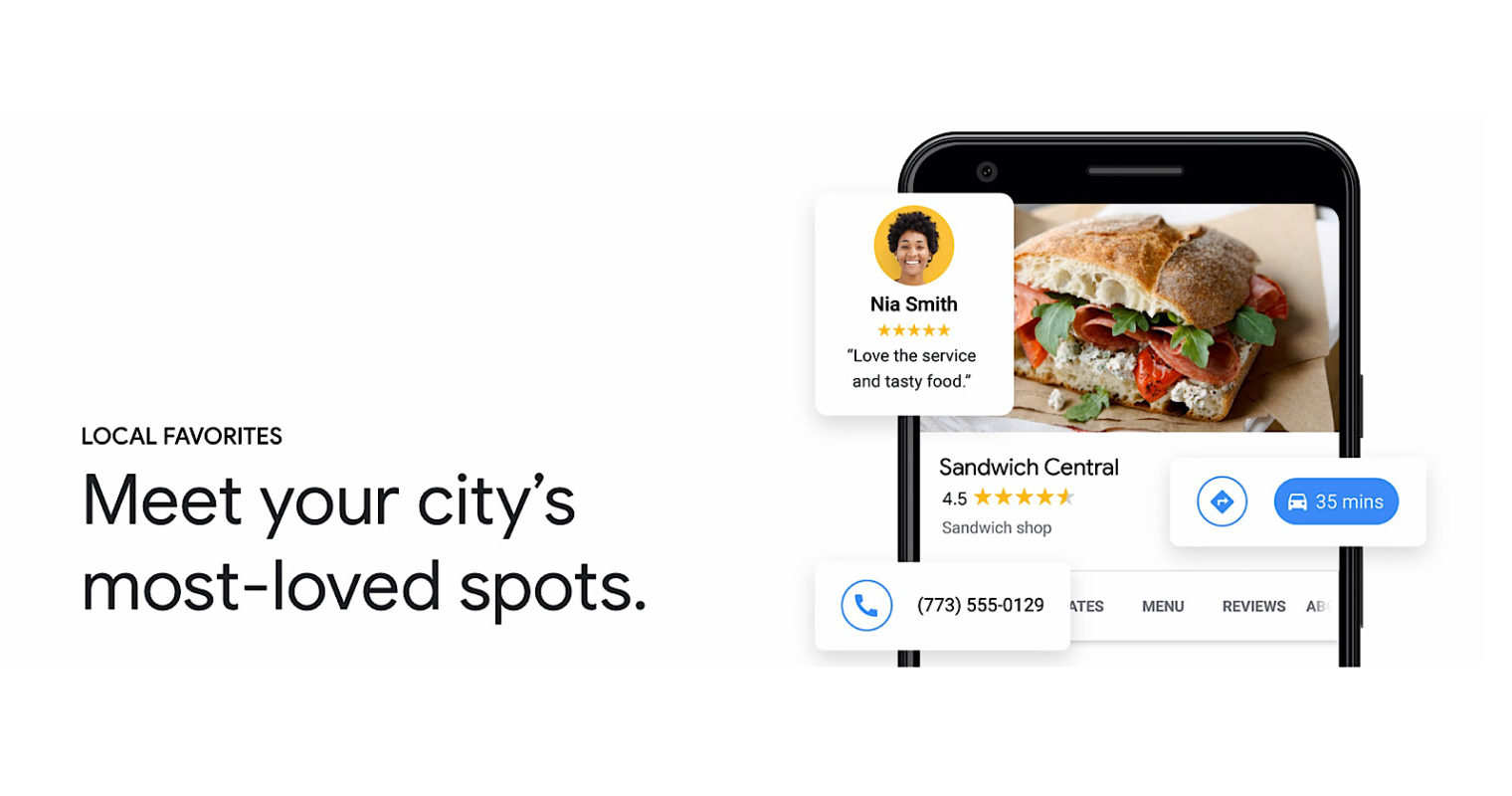 Google Highlights Restaurants That Earned 'Local Favorite' Status